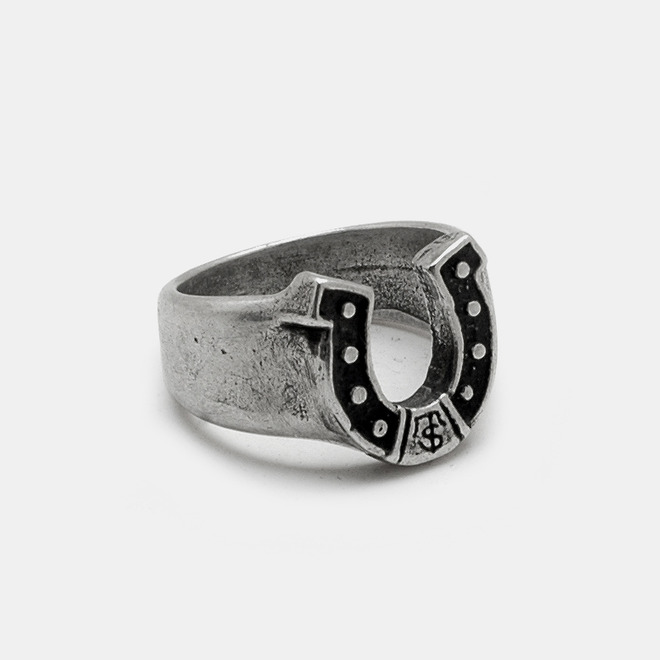 Horse shoe Silver Ring