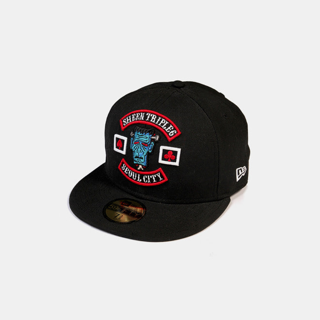 Newera x Sheen666 59th anniversary Cap 59FFTY