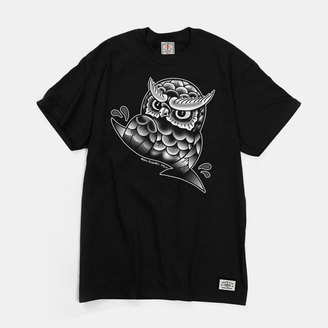 Owl T-Shirts black
