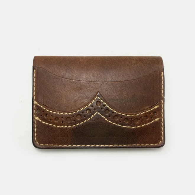 575 #079 LTD Card Holder Horse Leather Custom