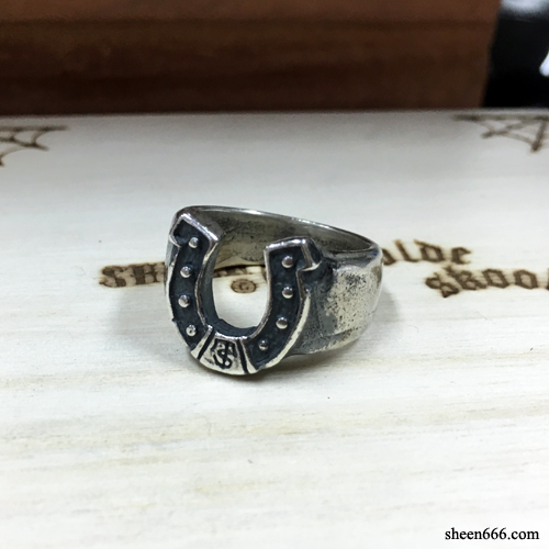 Horse shoe Silver Ring 15호