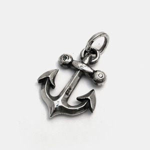 Anchor Silver Pendant big