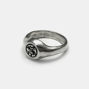 Small Icon Logo Ring
