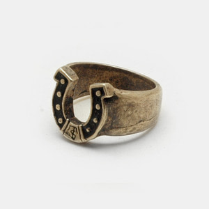 Horse shoe Brass Ring