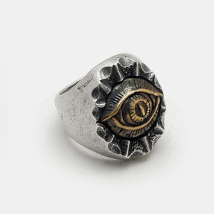 Eye Series Silver Ring