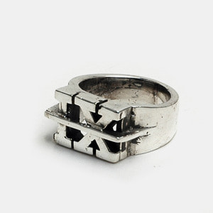 IX Crew X TripleSix Collaboration Silver Ring