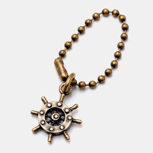 Steering Wheel Ball chain Key Holder