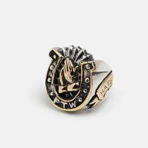 Horse shoe Custom Ring