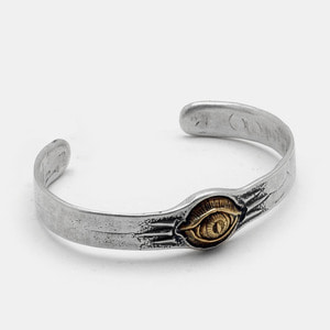 Eye Series Silver Bangle