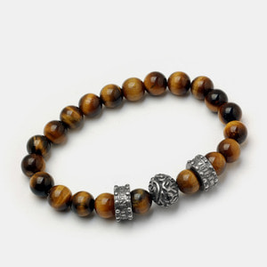 Brain Beadz Bracelet - Tiger eye