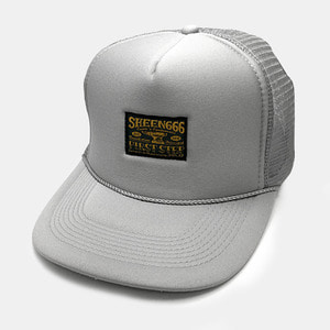 OG Label Mesh Trucker Cap by OTTO Cap grey