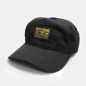 OG Label 5 Panel Cap black