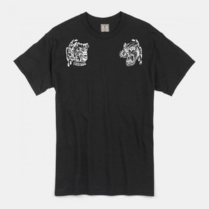 [예약할인 20%] Angry Animals T-Shirts black/white