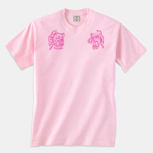 [예약할인] Angry Animals T-Shirts pink