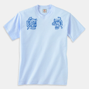 [예약할인] Angry Animals T-Shirts light blue