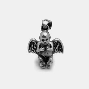 1982 Angel Silver Custom Pendant