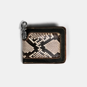 575 Leather Wallet #027 BF SE Horse Hide_Python