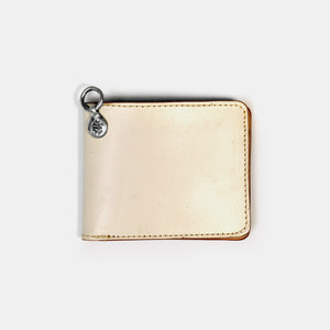575 Leather Wallet #031STND milk