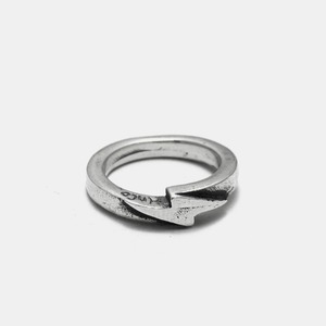 Thunder Silver Ring Small