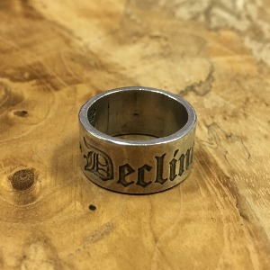 Decline Engraving Thick Spacer 18호