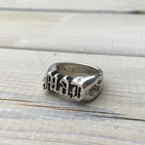 Mad Script Silver Ring 20.5호