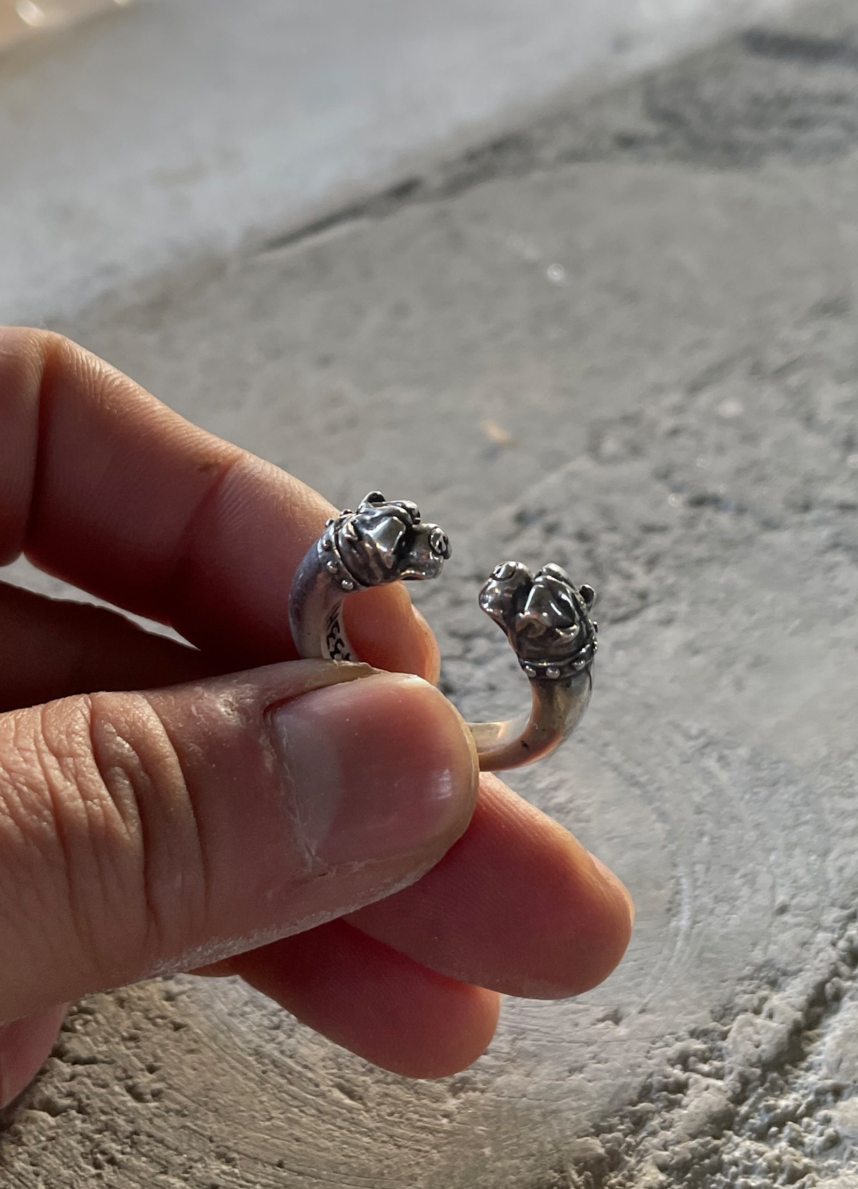 CRAZY DOG SILVER RING INSTOCK 20호