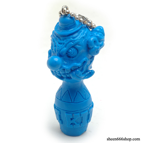 KingPin Resin KeyChain_Blue
