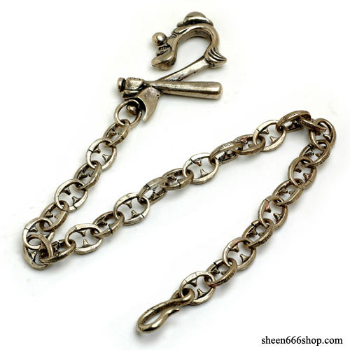 KingPin Brass Casting Wallet Chain