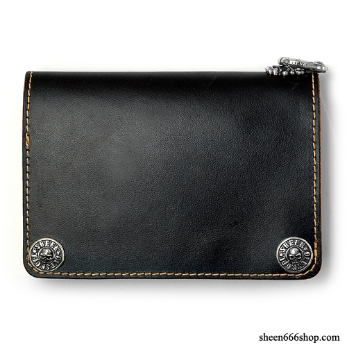 575 Leather Wallet #005 - black / 6pcs Limited