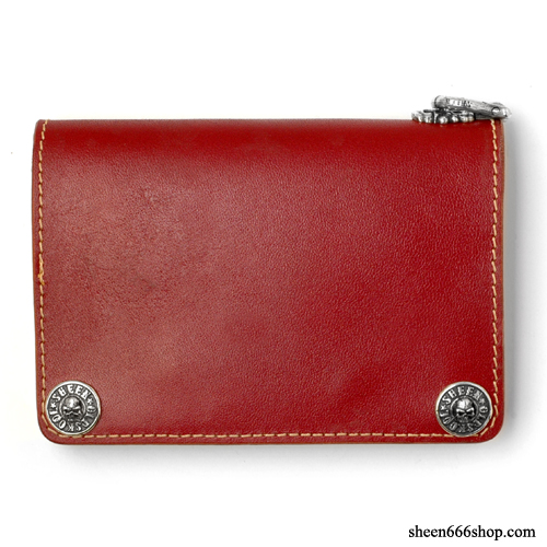 575 Leather Wallet #006 - wine / 5pcs Limited