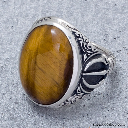 Dorje Ring Tiger Eye
