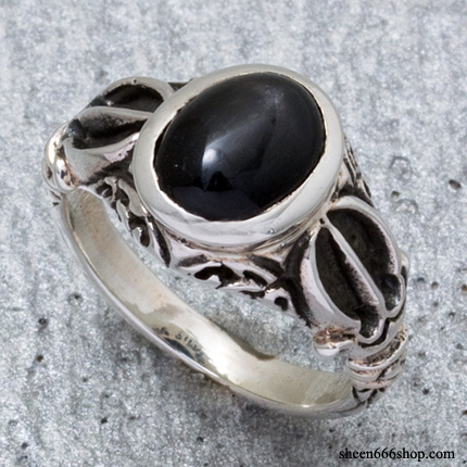 Dorje Ring S-Black Star