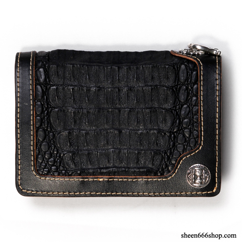 575 Leather Wallet #029 SE HorseHide_Caiman