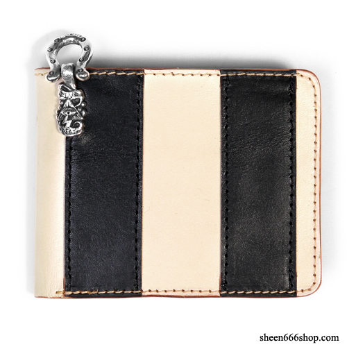 575 Leather Wallet #033 Prison Border