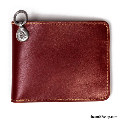 575 Leather Wallet #032STND wine