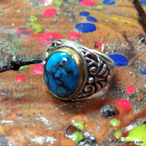 Turquoise Cabochon Ring