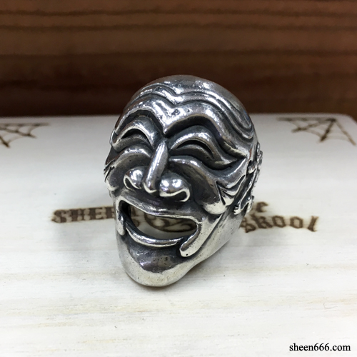 [STOCK -40%] Mask Silver Ring New Ver  18호