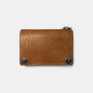 575 Leather Wallet #062 Horse Strips Special natural
