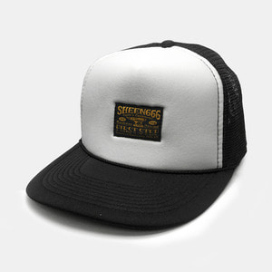 OG Label Mesh Trucker Cap by OTTO Cap black/white