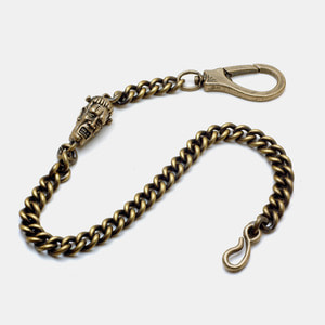MachineHead Brass Wallet Chain